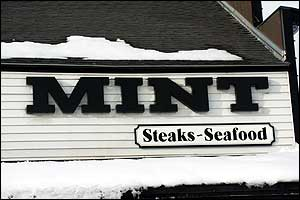 Mint: Steaks - Seafood